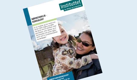 Foto af flyer: Børnefamiliekonsulenten