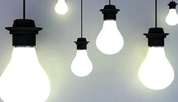 foto af lyspærer