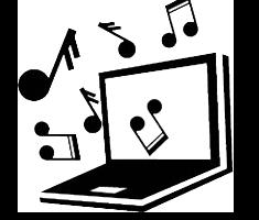 Informationsgrafik af computer med noder
